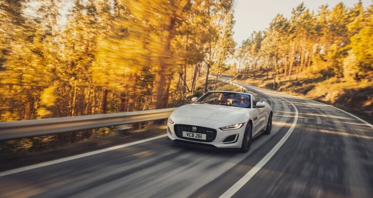 2022 Jaguar F-Type Only Available With Supercharged V8