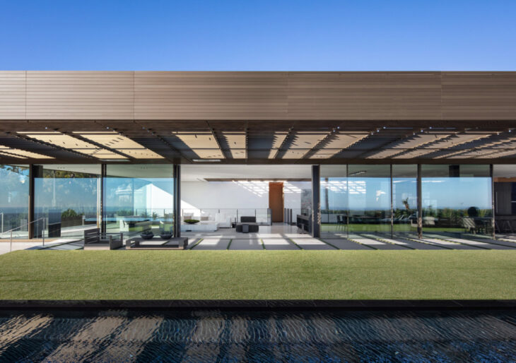 A Bronze House on Nightingale in Los Angeles by SPF: architects