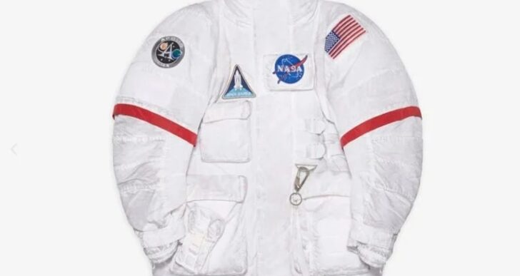 Balenciaga's Latest Collection Inspired by Vintage NASA Aesthetic