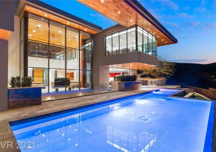Gene Simmons Pays $8.2M for Luxuriant Spread in Las Vegas