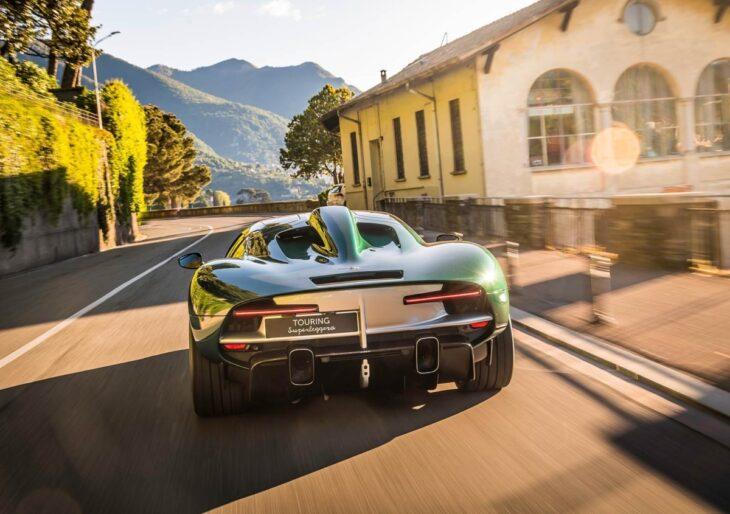 Touring Superleggera Reconciles Supercar Sensibilities and Coachbuilding Heritage With Ferrari-Based Arese RH95