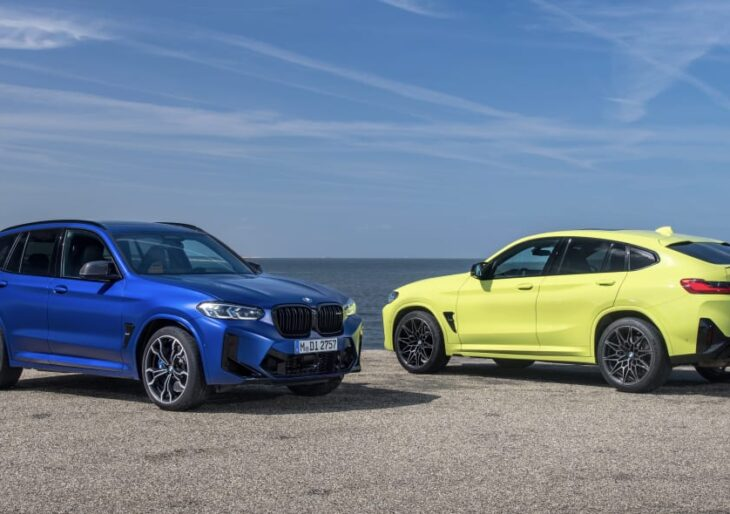 2022 BMW X3 and X4 M and M Competition Quicker; Price Starts at $71K