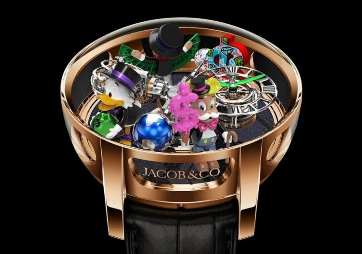 Alec Monopoly Whimsy Pops Up in $600K Jacob & Co. Timepiece