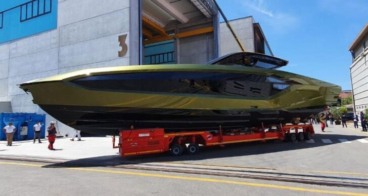 Conor McGregor Shows Off Recently Completed Lamborghini Yacht