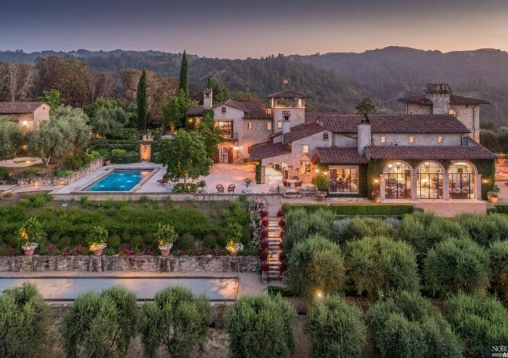 Joe Montana's European-Inspired, 503-Acre Napa Valley Home Available for $24.5M