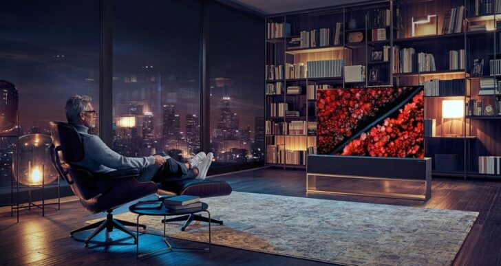 LG OLED R Rollable TV Carries $100K Price Tag