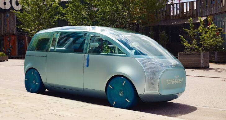 Mini's Vision Urbanaut Anticipates Looming Smart Car Future