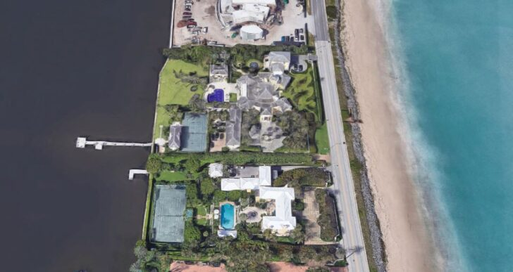 Tommy Hilfiger Adds Double Waterfront Mansion in Palm Beach for $46.3M