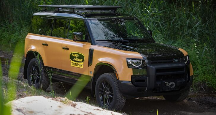 2022 Land Rover Defender 110 Trophy Edition Brings Iconic Livery to North America