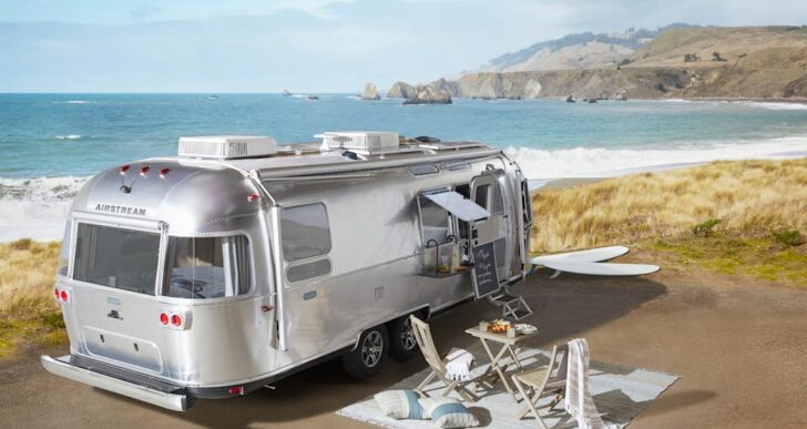Airstream Taps Pottery Barn for Special-Edition Travel Trailer