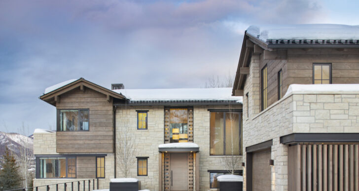 Mountain Retreat in Aspen by Rowland+Broughton Architecture