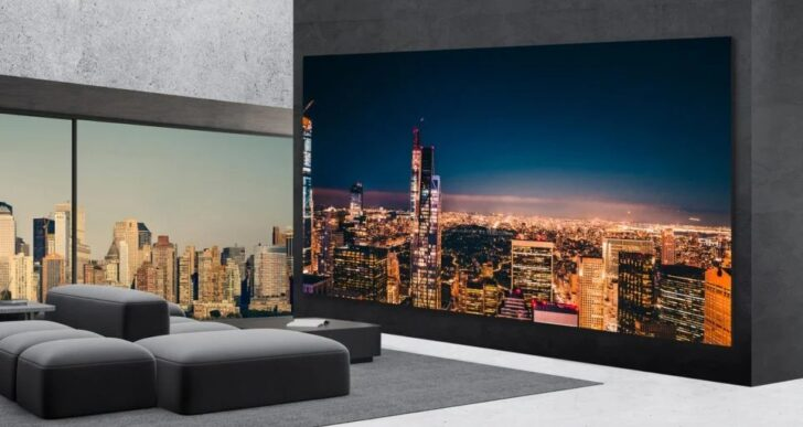 LG's $1.7M 'Direct-View LED Extreme Home Cinema' Is a 325″ 8K TV