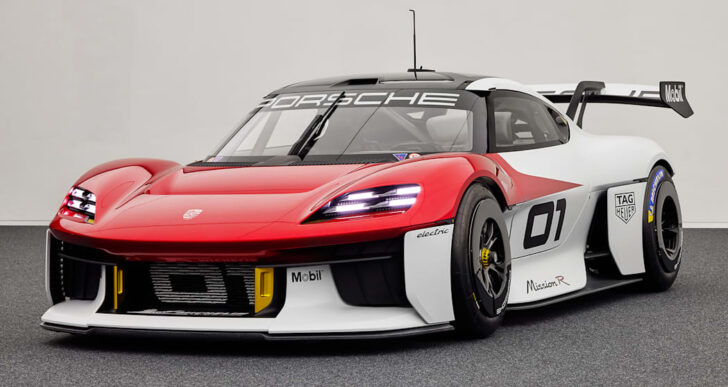 Porsche Mission R Concept Packs 1,073 Electric Horses, Previews New Model in the Works