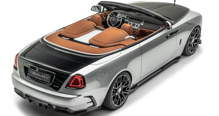 Mansory Introduces Latest Kit for Rolls-Royce Dawn